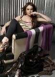 Lindsay Lohan in Visa Swap UK 2008 Campaign photoshoot -